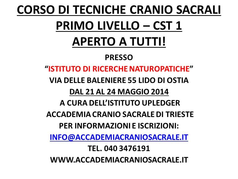 CARTELLO CST 1 OSTIA 21 - 24 MAGGIO 2014