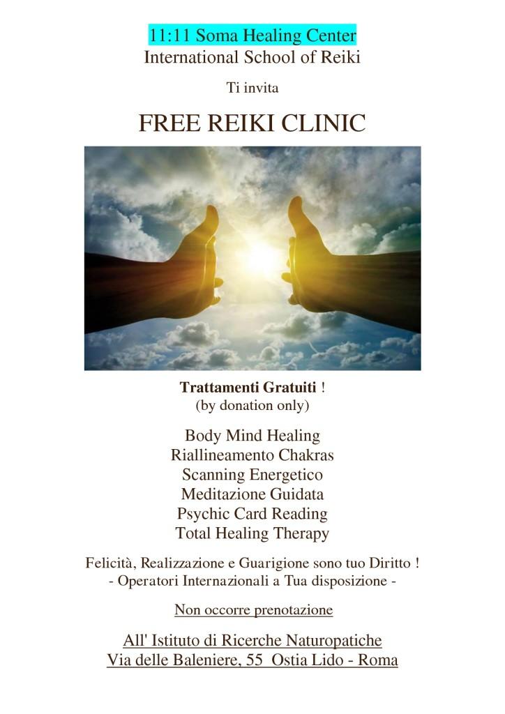 clinic reiki free