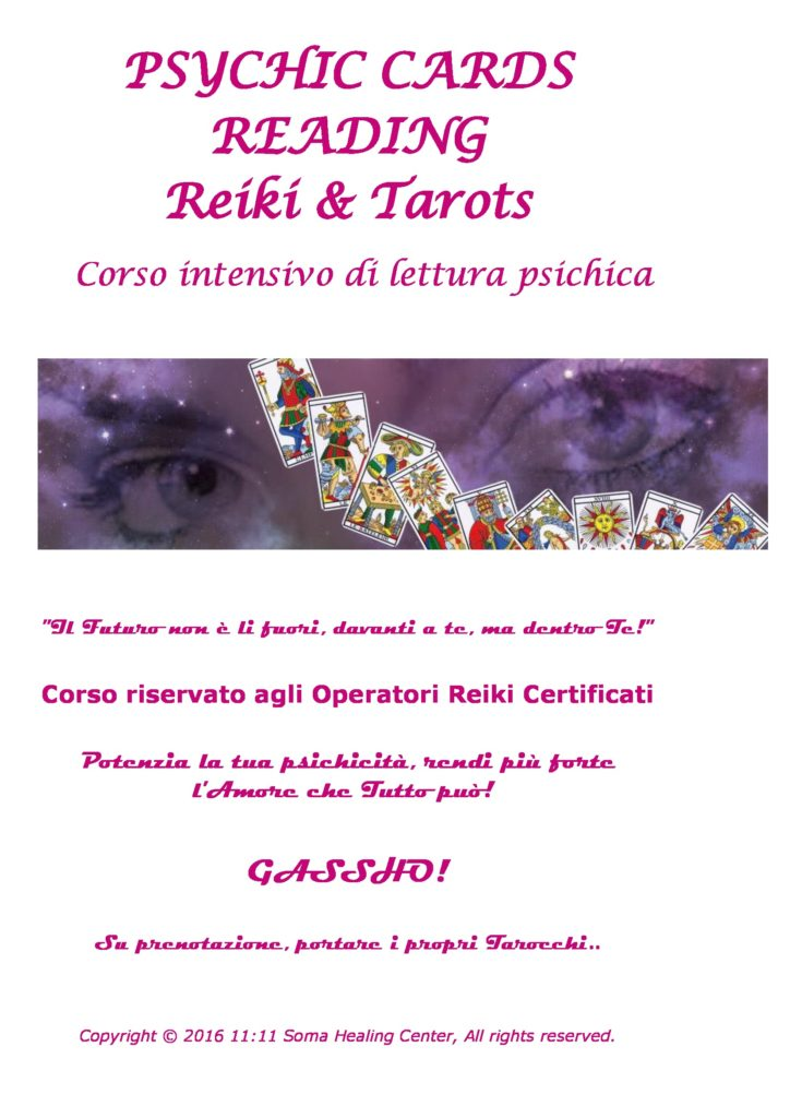 psychic cards reading